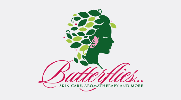 Custom-designed logo for Butterflies preview