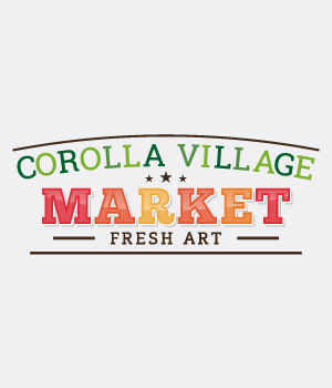 Custom-designed logo for Corolla Village Market preview