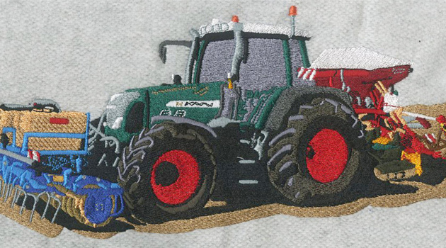 Embroidery Digitizing design for Bodenbearbeitung preview