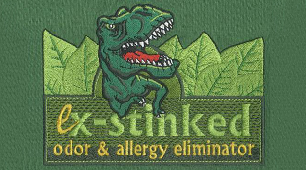 Embroidery Digitizing design for Ex-stinked