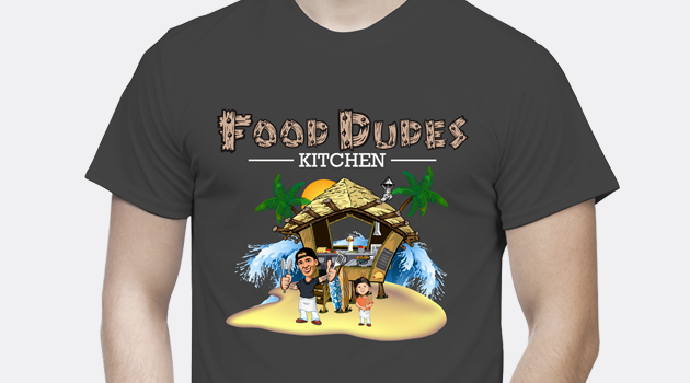 Custom-Designed T-Shirt for Food Dudes preview