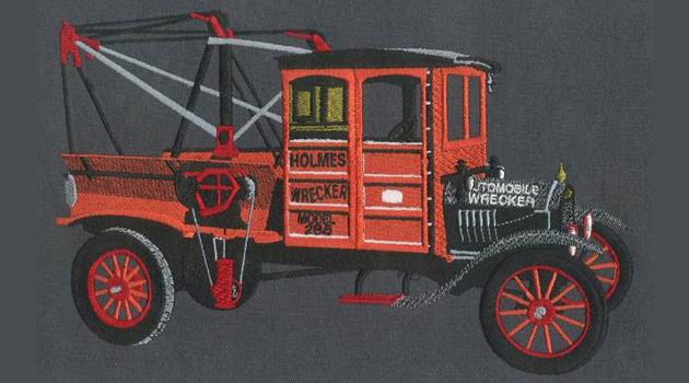 Embroidery Digitizing design for Holmes Wrecker preview