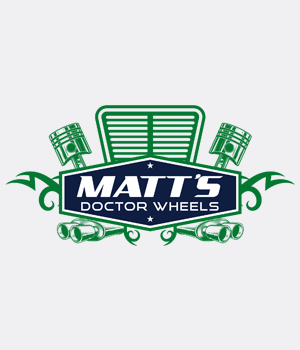 Custom-Designed Logo design for Matt's Doctor Wheels preview