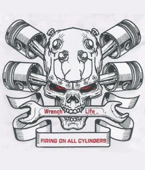 Embroidery Digitizing design for Wrench Life preview
