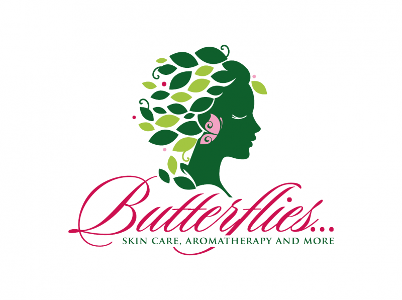 Custom-designed logo for Butterflies full size