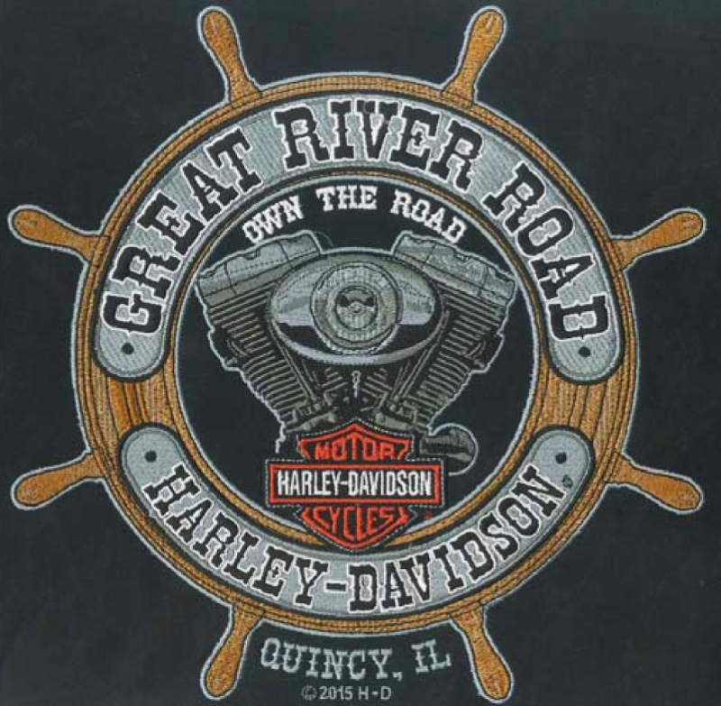 Embroidery Digitizing design for Great River Road full size