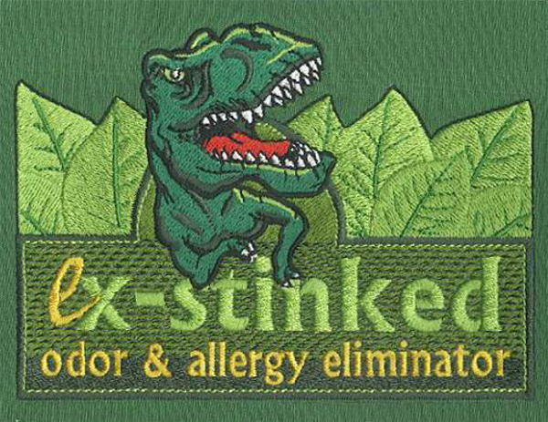 Embroidery Digitizing design for Ex-stinked full size