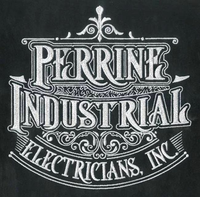 Embroidery Digitizing design for Perrine Industrial full size