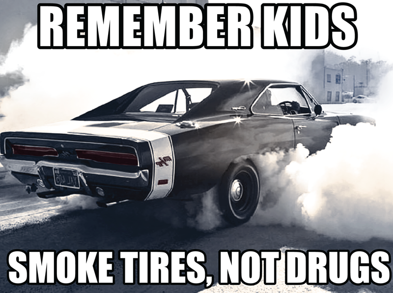 Vector Artwork design with remember kids smoke tires, not drugs full size