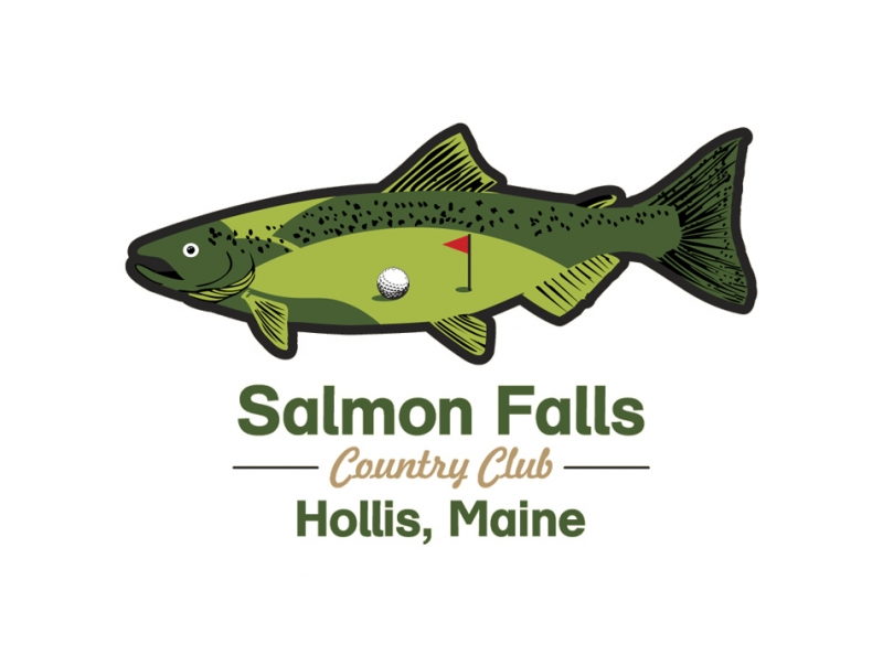 Custom-Designed Logo design for Salmon Falls full size