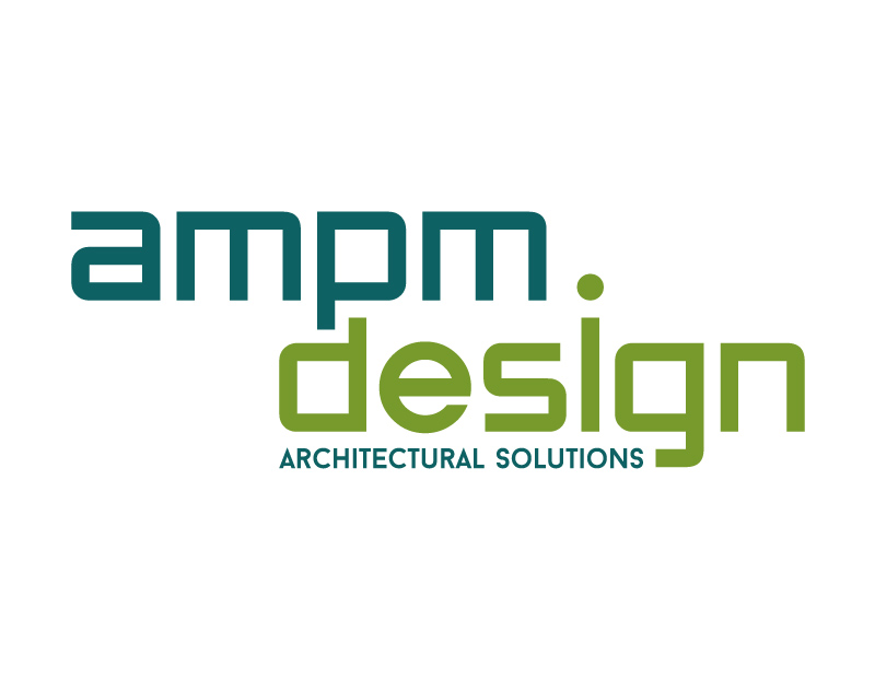 Custom-Designed Logo for AMPM Design full size