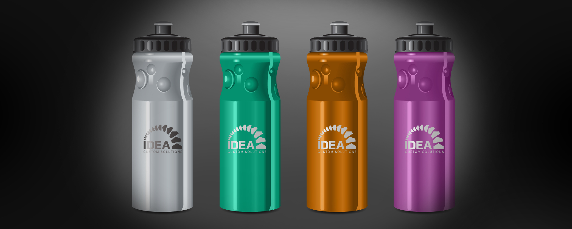 Water Bottle Promotion Item Graphic