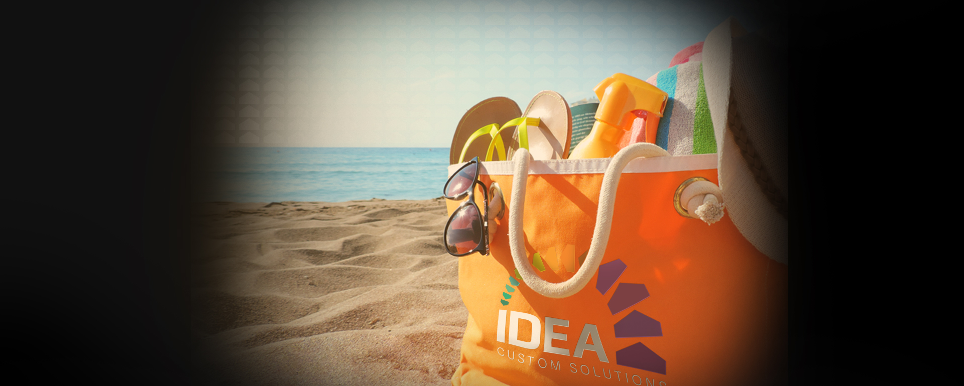 Idea Custom Beach Bag Graphic