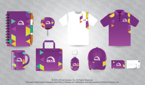 Branded Employee Perks like Notebooks, Shirts and Bags