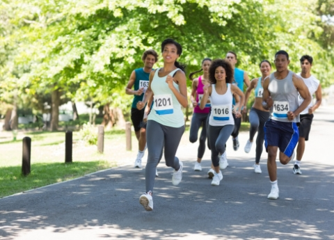 People Running in a Race as Terrific Branding Opportunity