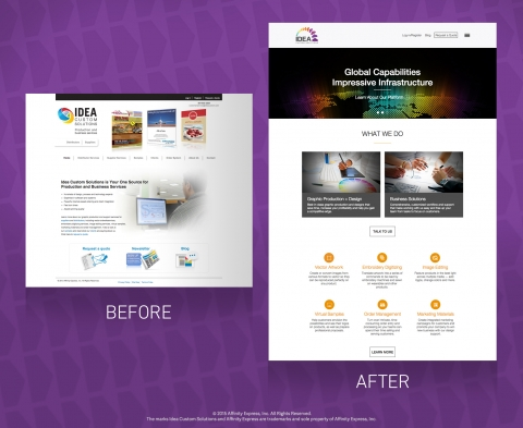 Before and After Shows Good Website Design is Critical to Business