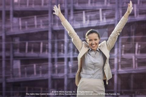 Triumphant Woman Building Success Through Routines